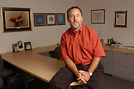 Jeff Westphal, CEO of Vertex Inc., poses for a portrait in his office June 30, 2004 in Berwyn, Pennsylvania. (Photo by William Thomas Cain)