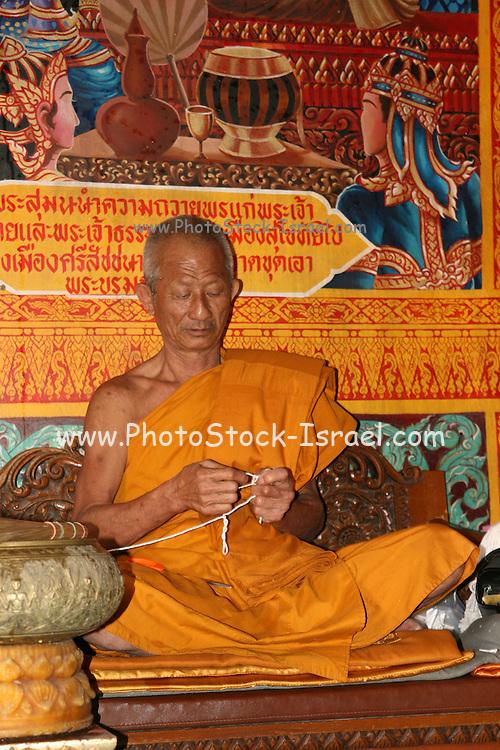 Thailand, Temple monk
