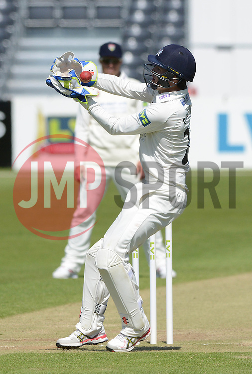 Gareth Roderick of Gloucestershire - Photo mandatory by-line: Dougie Allward/JMP - Mobile: 07966 386802 - 21/05/2015 - SPORT - Cricket - Bristol - County Ground - Gloucestershire v Kent - LV=County Cricket
