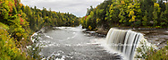 64797-00812 Tahquamenon Falls in fall, Chippewa County, MI