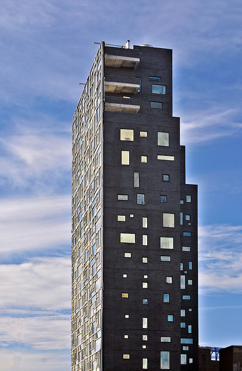 100 Eleventh Avenue designed by Ateliers Jean Nouvel and Beyer Blinder Bell,  New York City, New York, Chelsea