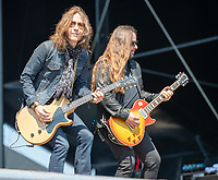 2019-06-06 | Norje, Sweden: Blackberry Smoke performing at Sweden Rock Festival ( Photo by: Roger Linde | Swe Press Photo )<br /> <br /> Keywords: Sweden Rock Festival, Norje, Festival, Sweden Rock Festival, SRF, Blackberry Smoke