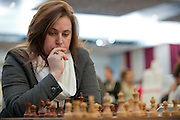Judit Polgar from Hungary during European Team Chess Championships 2013 at Novotel Hotel in Warsaw on November 12, 2013.<br /> <br /> Poland, Warsaw, November 12, 2013<br /> <br /> Picture also available in RAW (NEF) or TIFF format on special request.<br /> <br /> For editorial use only. Any commercial or promotional use requires permission.<br /> <br /> Mandatory credit:<br /> Photo by &copy; Adam Nurkiewicz / Mediasport