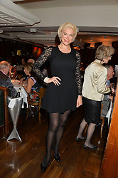 HANNAH WADDINGHAM at One Night Only at The Ivy in aid of Acting For Others supported by Tanqueray No.TEN Gin at The Ivy, 1-5 West Street, London on 1st December 2013.