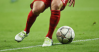 FUSSBALL CHAMPIONS LEAGUE  SAISON 2015/2016 VIERTELFINAL HINSPIEL FC Bayern Muenchen - Benfica Lissabon         05.04.2016 Ball und Beine