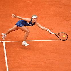 Angelique Kerber of Germany during Day 11 of the French Open 2018 on June 6, 2018 in Paris, France. (Photo by Dave Winter/Icon Sport)