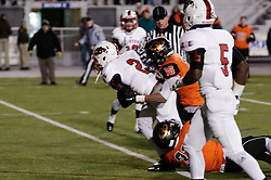 Wide Receiver Amir Brown of Imhotep Panthers in action at the December 18, 2015 PIAA 3A State Championship at Hersheypark Stadium. (photo by Bastiaan Slabbers)