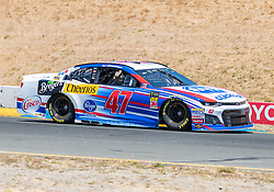 June 22, 2018 - Sonoma, CA, U.S. - SONOMA, CA - JUNE 22:  AJ Allmendinger, driving the #(47) Chevrolet for JTG Daugherty Racing  accelerates toward turn 9 on Friday, June 22, 2018 at the Toyota/Save Mart 350 Practice day at Sonoma Raceway, Sonoma, CA (Photo by Douglas Stringer/Icon Sportswire) (Credit Image: © Douglas Stringer/Icon SMI via ZUMA Press)
