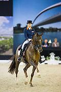 Lynne Maas - Zamora<br /> Jumping Indoor Maastricht 2015<br /> © DigiShots
