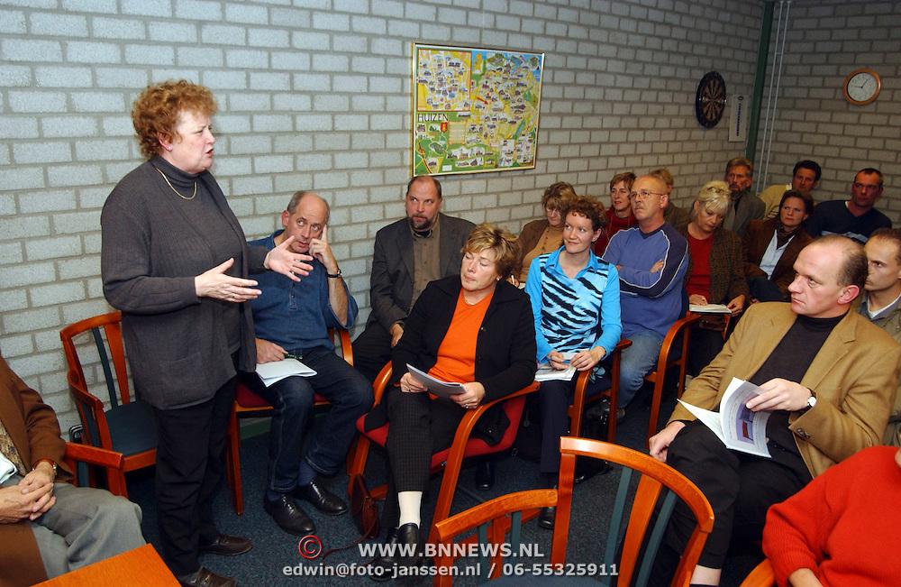 Sportcafe Huizen Ad van Daalen wethouder Willy Metz