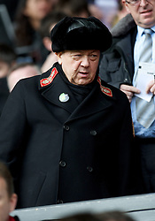 07.04.2013, Anfield, Liverpool, ENG, Premier League, FC Liverpool vs West Ham United, 32. Runde, im Bild West Ham United's vice-chairman David Sullivan during during the English Premier League 32th round match between Liverpool FC and West Ham United FC at Anfield, Liverpool, Great Britain on 2013/04/07. EXPA Pictures © 2013, PhotoCredit: EXPA/ Propagandaphoto/ David Rawcliffe..***** ATTENTION - OUT OF ENG, GBR, UK *****