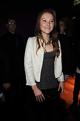 AMBER ATHERTON at the Tatler Little Black Book Party held at Chinawhite, 4 Winsley Street, London on 20th November 2009.