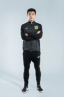 Portrait of Chinese soccer player Zhao Hui of Guizhou Hengfeng Zhicheng F.C. for the 2017 Chinese Football Association Super League, in Guiyang city, southwest China's Guizhou province, 23 February 2017.