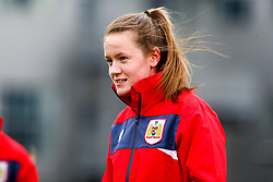 Heather Payne of Bristol City prior to kick off - Mandatory by-line: Ryan Hiscott/JMP - 14/10/2018 - FOOTBALL - Stoke Gifford Stadium - Bristol, England - Bristol City Women v Birmingham City Women - FA Women's Super League 1