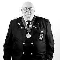 Tug Wilson, Royal Navy, 1956 - 1985, Chief Petty Officer, Clearance Diver, Cyprus, Malaya, Borneo, Singapore, Hong Kong.  Tug currently serves as chairman of Area 2 RNA branch in Chatham.