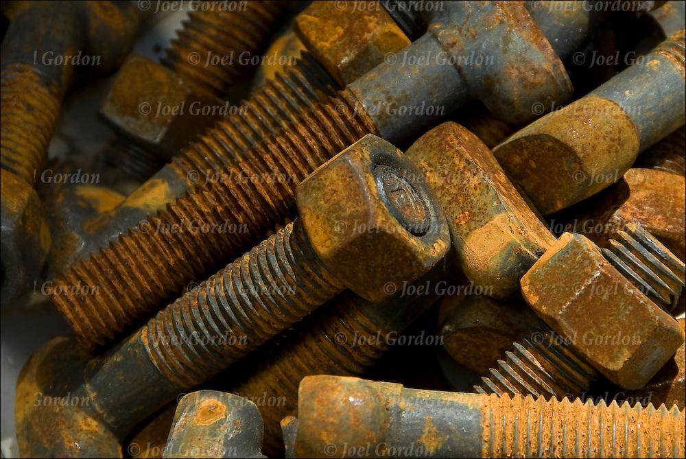 Corrosion is a natural galvanic process in which metals become pitted and eaten away by slow oxidation. <br /> <br /> We see the effects of corrosion all around us in the from of rusted iron, pitted aluminum, tarnished statures and jewelry. Rusting wall, rusty corroded metal