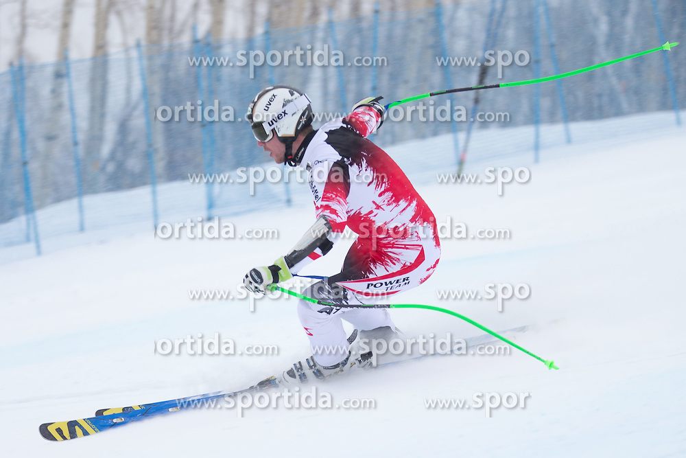 30.01.2015, Golden Peak Strecke, Vail, USA, FIS Weltmeisterschaften Ski Alpin, Training, im Bild Hannes Reichelt (AUT) // Hannes Reichelt of Austria in Action during a practice run for the FIS Ski World Championships 2015 at the Golden Peak Course, Vail, United States on 2015/01/30. EXPA Pictures © 2015, PhotoCredit: EXPA/ Johann Groder