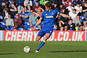 AFC Wimbledon defender Paul Robinson (6) clearing the ball during the EFL Sky Bet League 1 match between AFC Wimbledon and Southend United at the Cherry Red Records Stadium, Kingston, England on 25 March 2017. Photo by Matthew Redman.