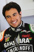 Sergio Perez (MEX) Sahara Force India F1.<br /> Japanese Grand Prix, Saturday 4th October 2014. Suzuka, Japan.