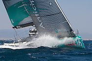 Quantum Racing during Race 2 of the AUDI Medcup in Cagliari