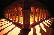 Romanesque cathedral cloisters, Tudela. Navarra, Spain.