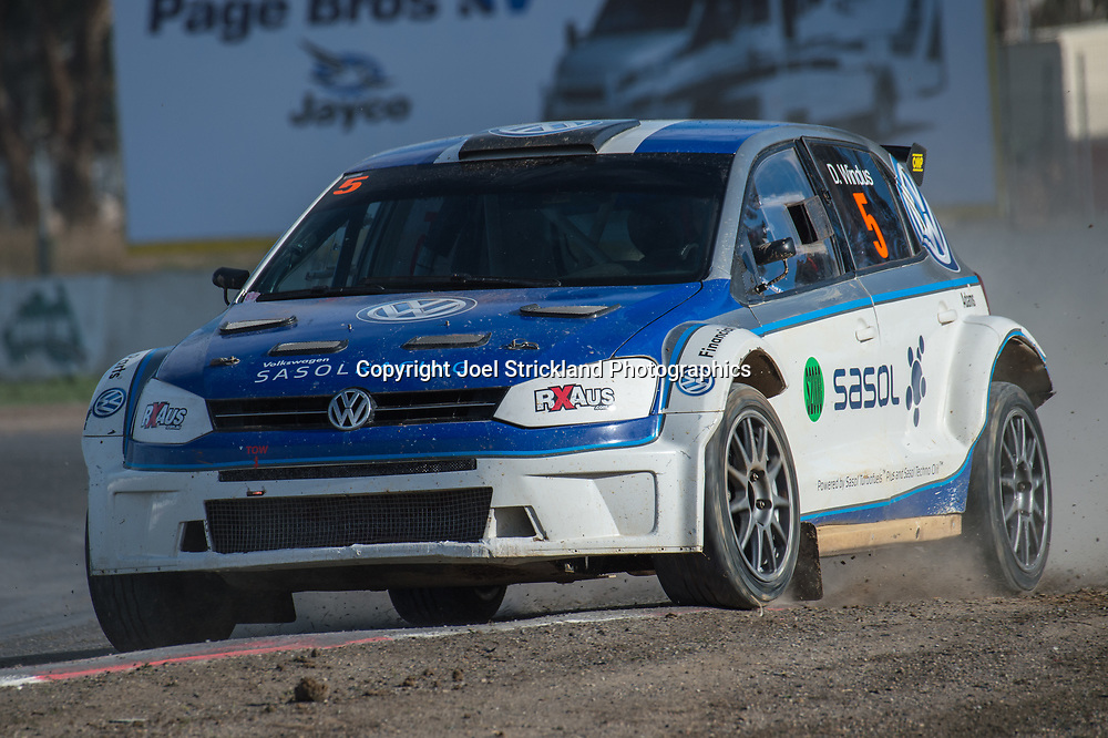 Darren Windus - Vw Polo - Rallycross Australia - Winton Raceway - 16th July 2017