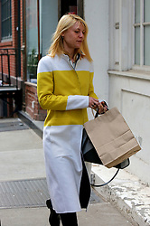 March 23, 2016 - New York City, NY, USA - Actress Claire Danes left her house in Greenwich Village to appear in the play 'Dry Powder' at the Public Theatre on March 23 2016 in New York City  (Credit Image: © Philip Vaughan/Ace Pictures via ZUMA Press)