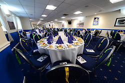 The Dribuild Suite at the Memorial Stadium is dressed up for the Former Bristol Rovers players dinner   - Mandatory by-line: Dougie Allward/JMP - 27/04/2017 - FOOTBALL - Ashton Gate - Bristol, England - Former Bristol Rovers Players Dinner