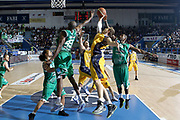 DESCRIZIONE : Porto San Giorgio Lega A 2010-11 Fabi Montegranaro Air Avellino <br /> GIOCATORE : Kristof Ongenaet<br /> SQUADRA : Fabi Montegranaro<br /> EVENTO : Campionato Lega A 2010-2011<br /> GARA : Fabi Montegranaro Air Avellino<br /> DATA : 14/11/2010<br /> CATEGORIA : rimbalzo<br /> SPORT : Pallacanestro<br /> AUTORE : Agenzia Ciamillo-Castoria/C.De Massis<br /> Galleria : Lega Basket A 2010-2011<br /> Fotonotizia : Porto San Giorgio Lega A 2010-11 Fabi Montegranaro Air Avellino <br /> Predefinita :