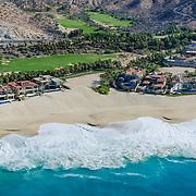 Aerial view of El Dorado Golf Course. Cabo San Lucas,Baja California Sur, Mexico.