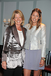 Left to right, LADY DE RAMSEY and her daughter DAISY FELLOWES at a evening with fashion label Lilah held at Quo Vadis, 26-29 Dean Street, London W1 on 29th May 2013.