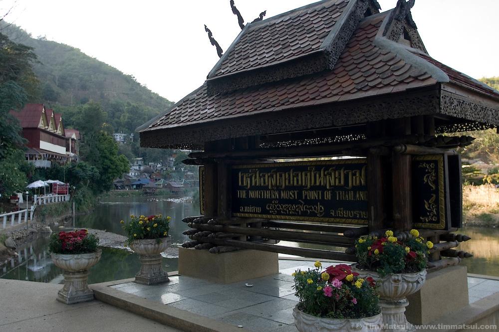 On the border with Myanmar (Burma), Mae Sai, Thailand.