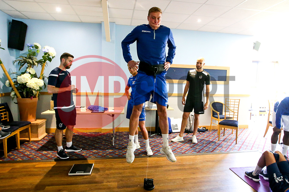 Tom Davies of Bristol Rovers during the first day of preseason training ahead of the 2019/20 Sky Bet League One Season - Mandatory by-line: Robbie Stephenson/JMP - 27/06/2019 - FOOTBALL - The Lawns - Bristol, England - Bristol Rovers Return for Preseason Training