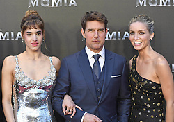 May 29, 2017 - Madrid, Spain - 29-05-2017 Mummy Tom Cruise and Director Alex Kurtzman and actor Sofia Boutella and Annabelle Wallis pose as they promote their latest film ''The Mummy'' in Madrid, Spain..No Spain.© PPE/Thorton.Credit: PPE/face to face.- No Rights for Netherlands  (Credit Image: © face to face via ZUMA Press)