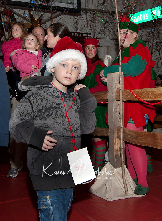 Laconia's annual Christmas Village opening night December 2, 2010.