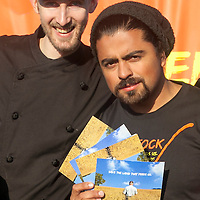 Chefs Luis Valenzuela and Matthew Kennedy urge you to Save the Land that Feeds Us.