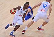 DESCRIZIONE : Trento Nazionale Italia Uomini Trentino Basket Cup Italia Repubblica Ceca Italy Czech Republic<br /> GIOCATORE : David Reginald Cournooh<br /> CATEGORIA : palleggio penetrazione blocco<br /> SQUADRA : Italia Italy<br /> EVENTO : Trentino Basket Cup<br /> GARA : Trentino Basket Cup Italia Repubblica Ceca Italy Czech Republic<br /> DATA : 17/06/2016<br /> SPORT : Pallacanestro<br /> AUTORE : Agenzia Ciamillo-Castoria/A.Scaroni<br /> Galleria : FIP Nazionali 2016<br /> Fotonotizia : Trento Nazionale Italia Uomini Trentino Basket Cup Italia Repubblica Ceca Italy Czech Republic