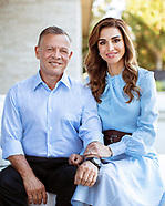 Queen Rania & King Abdullah Of Jordan