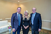 From Left to Right, Bobby Gruenewald, Lori Greiner, Dr. James L. Davis.<br />