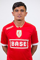 Standard's Faysel Kasmi pictured during the 2015-2016 season photo shoot of Belgian first league soccer team Standard de Liege, Monday 13 July 2015 in Liege.