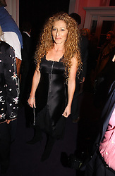 Interior designer KELLY HOPPEN at a party hosted by jeweller Theo Fennell and Dominique Heriard Dubreuil of Remy Martin fine Champagne Cognac entitles 'Hot Ice' held at 35 Belgrave Square, London, W1 on 26th October 2004.<br /><br />NON EXCLUSIVE - WORLD RIGHTS