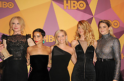 Zoe Kravitz, Reese Witherspoon, Laura Dern, Shailene Woodley and Nicole Kidman at the HBO's 2018 Official Golden Globe Awards After Party held at the Circa 55 Restaurant in Beverly Hills, USA on January 7, 2018.
