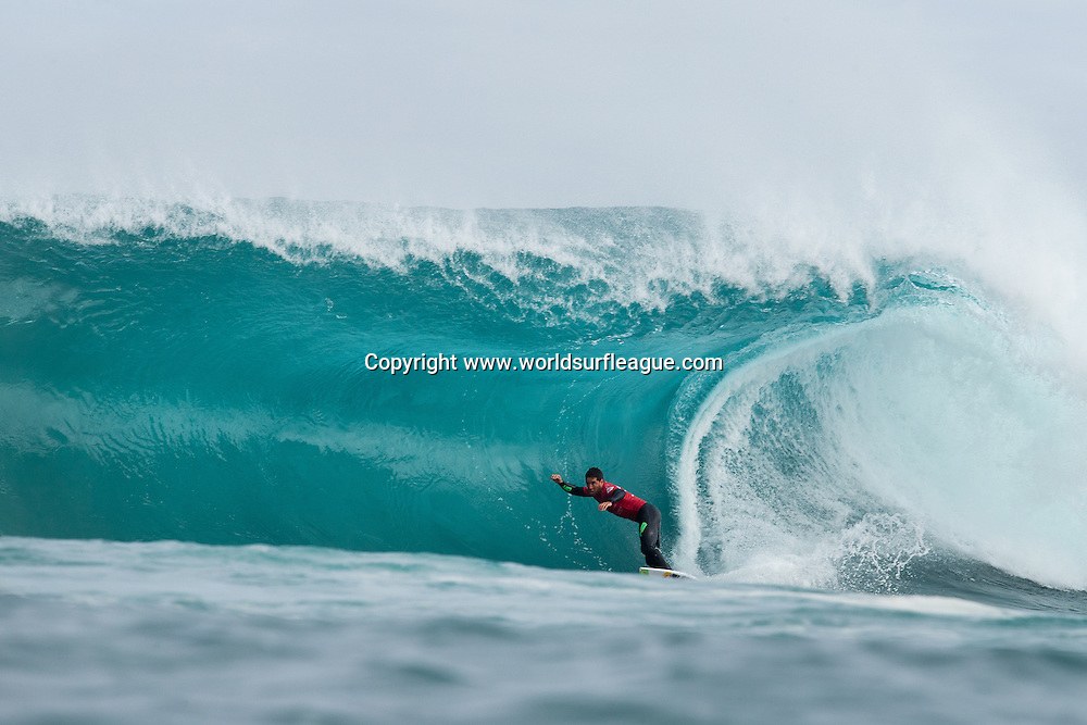 THIS IMAGE CAPTION: MARGARET RIVER, West Australia (Wednesday, April 15, 2015):  Adrian Buchan of Central Coast, New South Wales, Australia (pictured) placing second in his round 1 heat of the Drug Aware Margaret River Pro at 'The Box' on Wednesday April 15, 2015. <br /> <br /> IMAGE CREDIT: WSL / Cestari<br /> PHOTOGRAPHER: Kelly Cestari<br /> SOCIAL MEDIA TAG: @wsl @kc80<br /> <br /> The images attached or accessed by link within this email (&quot;Images&quot;) are hand-out images from the Association of Surfing Professionals LLC (&quot;World Surf League&quot;). All Images are royalty-free but for editorial use only. No commercial or other rights are granted to the Images in any way. The Images are provided on an &quot;as is&quot; basis and no warranty is provided for use of a particular purpose. Rights to an individual within an Image are not provided. Copyright to the Images is owned by World Surf League. Sale or license of the Images is prohibited. ALL RIGHTS RESERVED.
