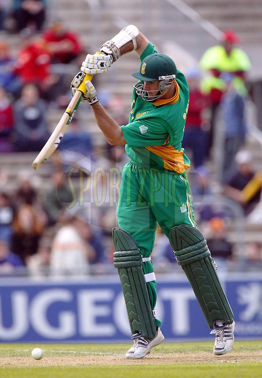 25 February, 2004. Carisbrook, Dunedin, New Zealand. ODI Series. New Zealand v South Africa..Graeme Smith..Pic: Photosport