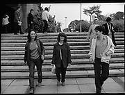 New Students At UCD.   (M94)..1979..08.10.1979..10.08.1979..8th October 1979..At the arts block of U.C.D.Belfield ,Dublin the new influx of students registered and toured the building before the got down to the serious work of study..Image shows a new studnt at UCD, Belfield..Unfortunately we do not have the caption sheet, If you know the student why not let us know at.E-mail