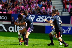 September 24, 2017 - Paris, France - The RCT Wing Josua Tuisova in action during The French Rugby Championship Top14 Stade Francais vs Rugby Club Toulonnais at The Jean Bouin Stadium in Paris - France.RCT won 15-19 (Credit Image: © Pierre Stevenin via ZUMA Wire)