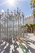 Urban Light Sculpture in Los Angeles
