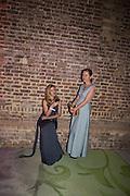IZABELLA ANDERSON; SANTA PASTARE;Serpentine Gallery and Harrods host the Future Contempories Party 2016. Serpentine Sackler Gallery. London. 20 February 2016