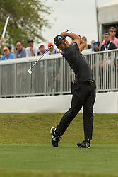 March 23, 2018 - Austin, TX, U.S. - AUSTIN, TX - MARCH 23: X. Schauffele hits a tee shot during the WGC-Dell Technologies Match Play Tournament on March 22, 2018, at the Austin Country Club in Austin, TX.  (Photo by David Buono/Icon Sportswire) (Credit Image: © David Buono/Icon SMI via ZUMA Press)