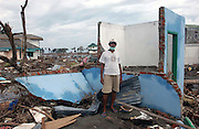 Banda Aceh, Indonesia<br />The tsunami on December 26 2004 devastated Banda Aceh. Daud stands in the remains of his family home, he is the sole survivor.